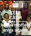 Poster: KEEP CALM strawberry shortcake kenya moffett aniya adams