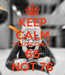 Poster: KEEP CALM YOU'RE ONLY  66 NOT 76