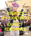 Poster: RESPECT MY EXISTENCE OR  EXPECT  RESISANCE