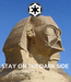 Poster:     STAY ON THE DARK SIDE