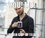 Poster: YOU! ME! AND A CUP OF TEA