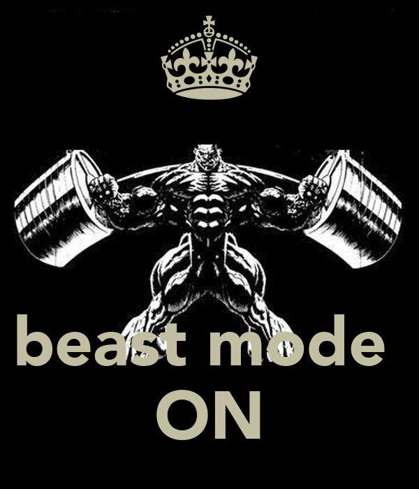 Beast Mode On Poster Adrian Keep Calm O Matic