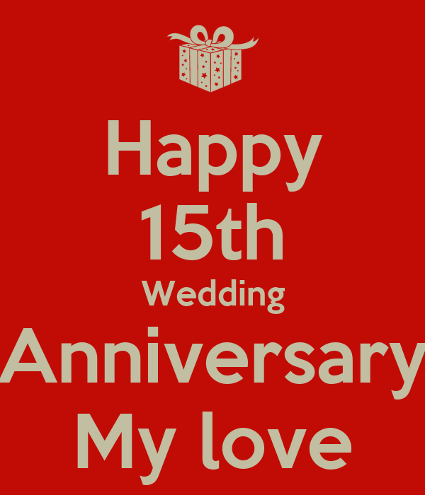 Happy th wedding anniversary my love poster hinu