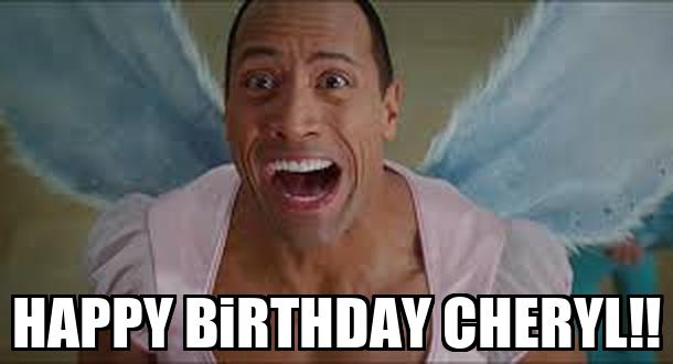 Happy Birthday Cheryl Cake Images