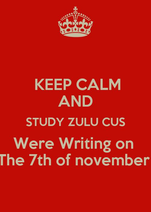 essay written in zulu