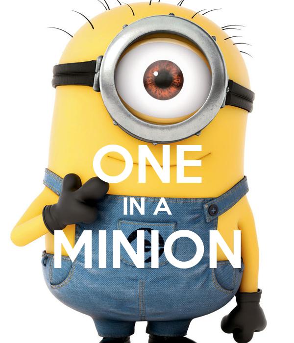 One In A Minion One in a minionOne In A Minion Tumblr