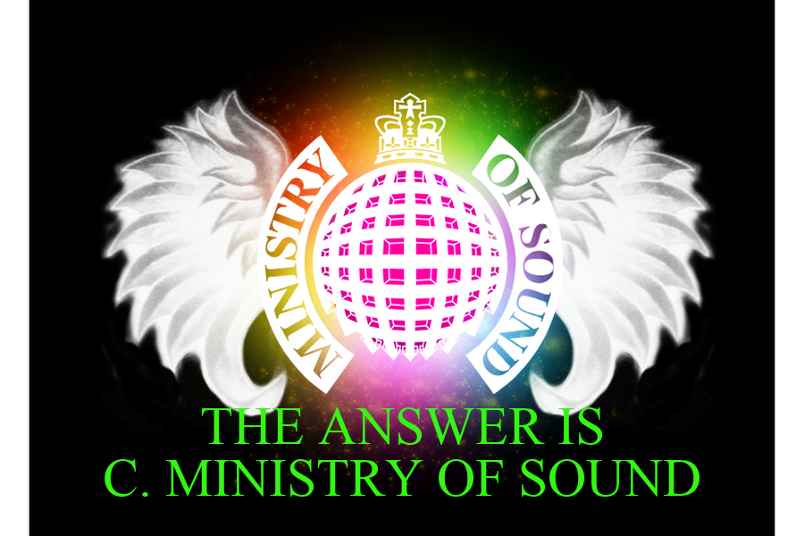 Ministry of Sound High quality Ministry of Sound inspired T-Shirts, Posters, Mugs and more by independent artists and designers from around the world. All orders are custom made and most ship worldwide within 24 hours.