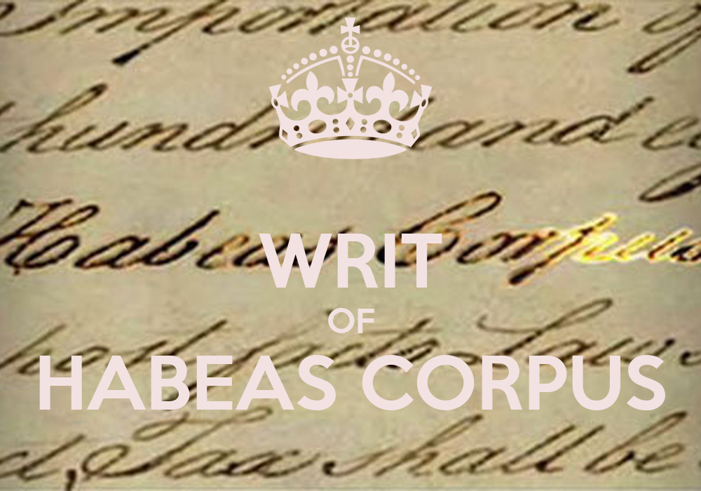 habeaus corpus Learn about custody enforcement through writ of habeas corpus in tampa, fl.