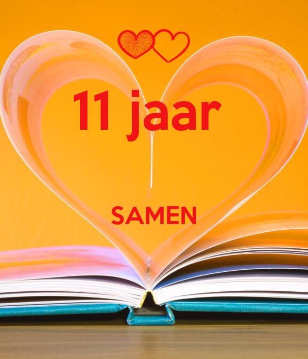 11 jaar samen 11 jaar SAMEN Poster   chris   Keep Calm o Matic 11 jaar samen