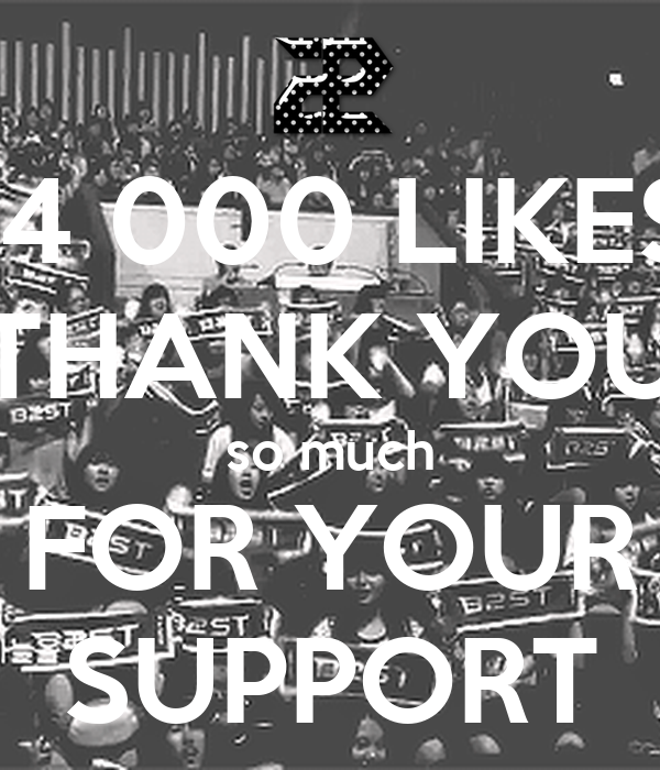 14 000 LIKES THANK YOU so much FOR YOUR SUPPORT - KEEP ...