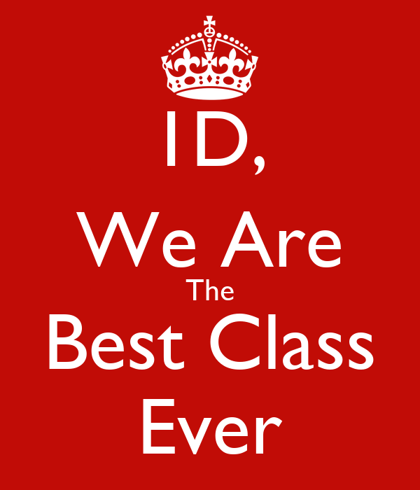 1d we are the best class ever poster tresha112 keep calm o matic
