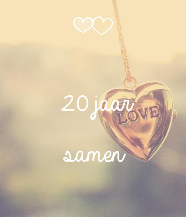 20 jaar samen 20 jaar samen Poster   Anouk   Keep Calm o Matic 20 jaar samen