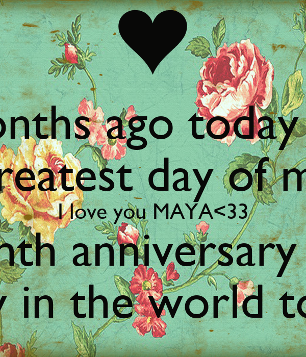 3 month anniversary quotes quotesgram for What to get my boyfriend for anniversary