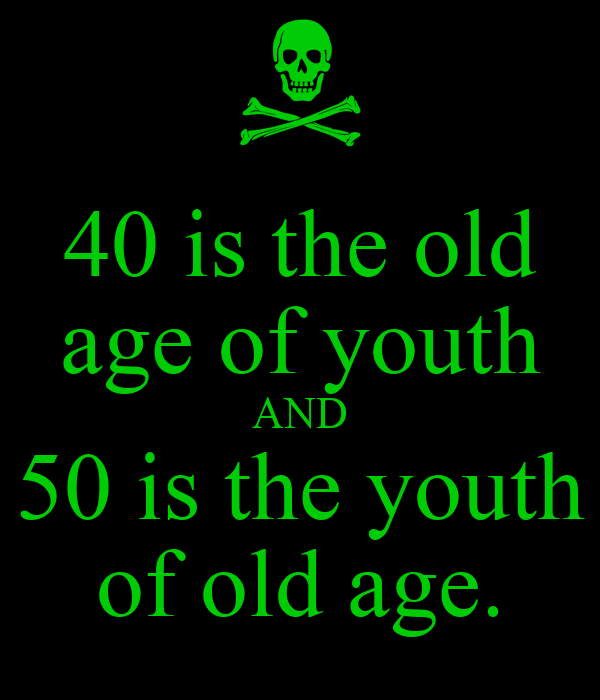 essay on youth and old age It seems that people manage to find a way to complain about the youth today  from every  the 'good old days' refer to people's nostalgic memories of the past.