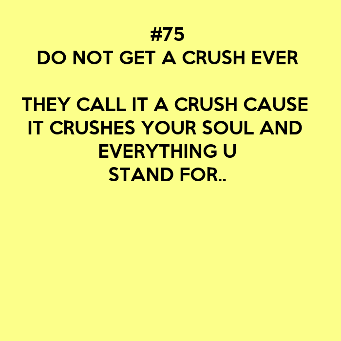 how do you get over a crush