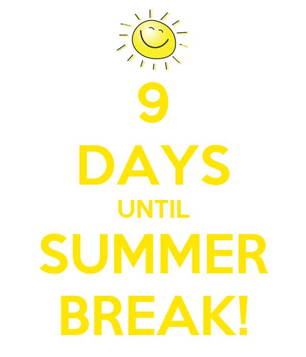 Image result for 9 days until summer