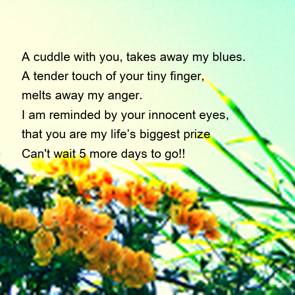 Cuddling With You: A Cuddle With You, Takes Away My Blues. A Tender Touch Of
