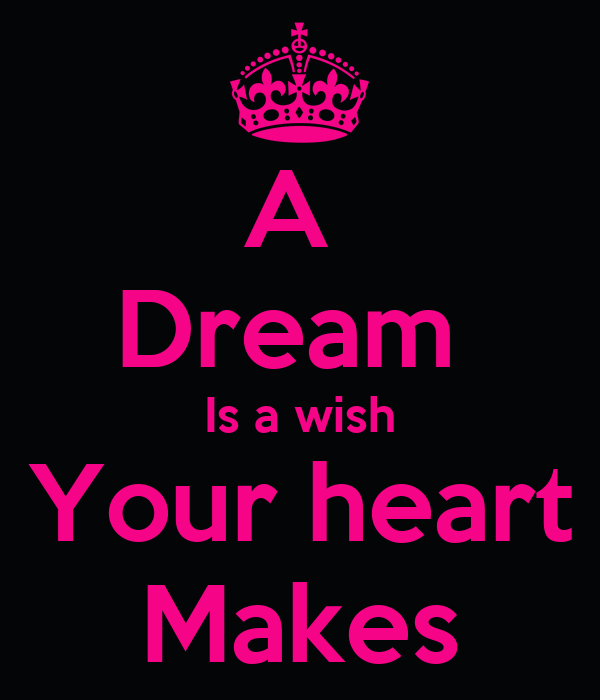 A Dream Is a wish Your heart Makes Poster | Anna | Keep ... A Dream Is A Wish Your Heart Makes Images