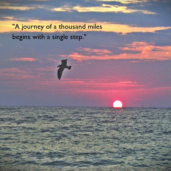 journey thousand miles begins single step essay checker