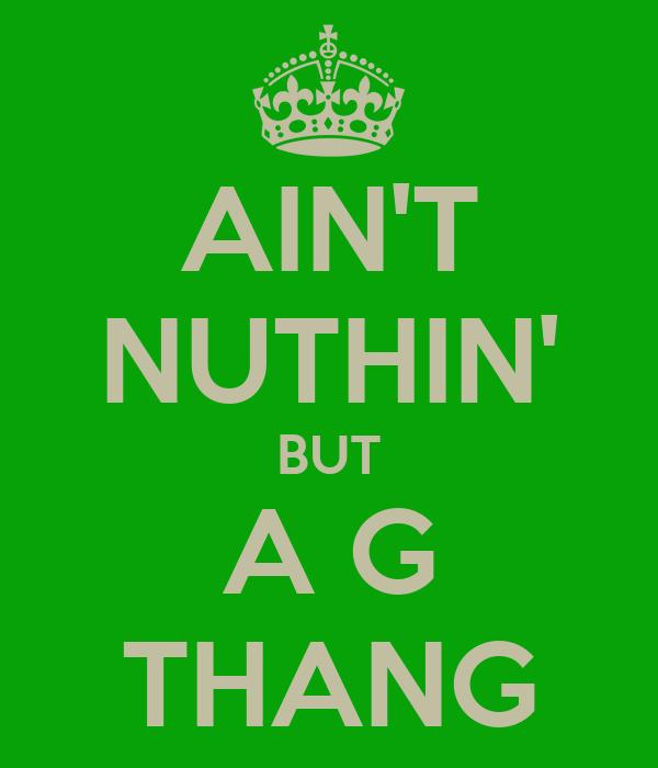Dr. Dre – Nuthin' But a 'G' Thang Lyrics | Genius Lyrics