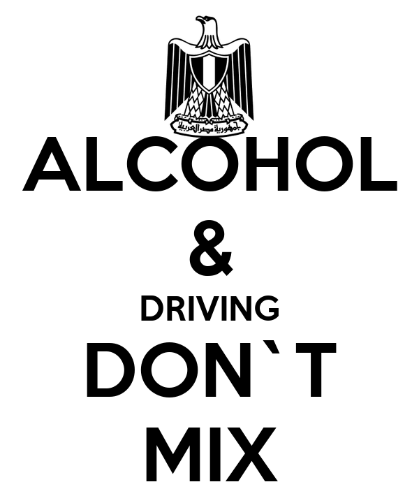 ALCOHOL & DRIVING DON`T MIX Poster | fiery | Keep Calm-o-Matic