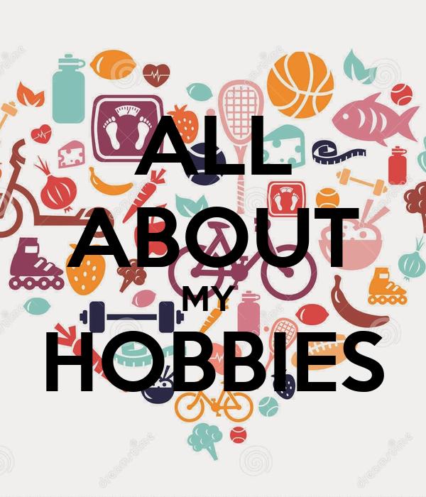 my hobbies singing