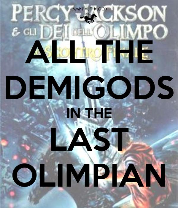 demigods and magicians pdf online