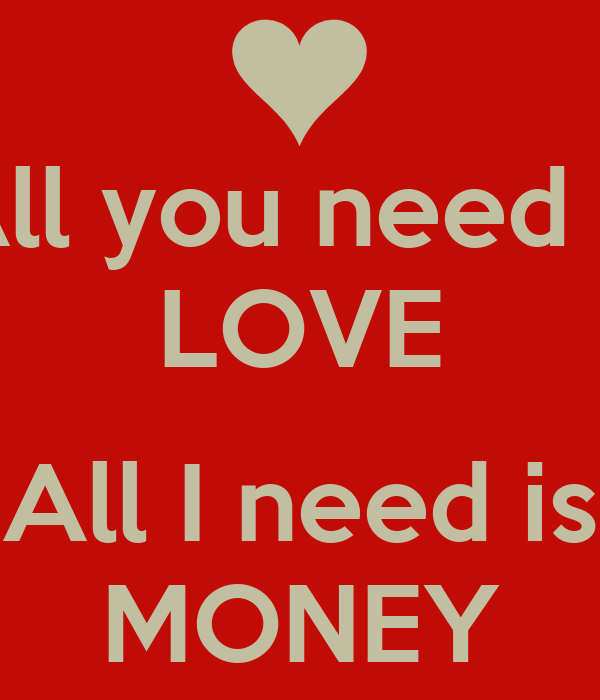 All you need love essay