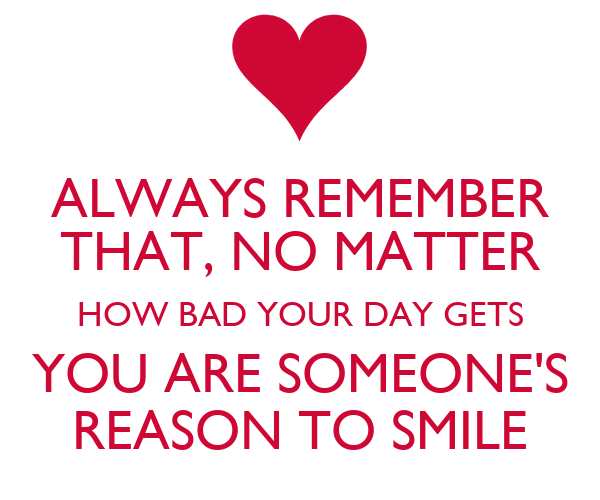 Your The Reason I Smile Quotes. QuotesGram