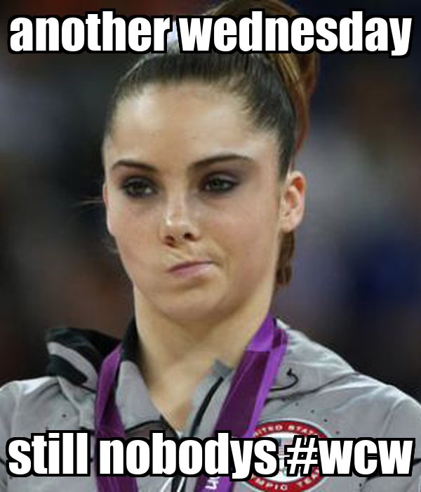 Another Wednesday Still Nobodys Wcw Poster Jat Keep Calm O Matic