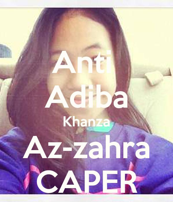 Adiba Khanza AZ Zahra