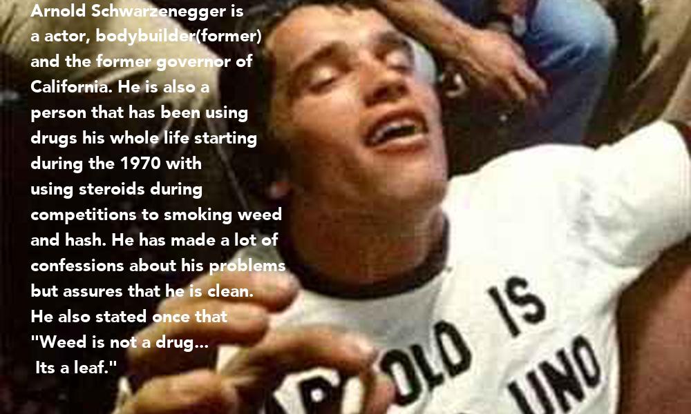 Arnold Schwarzenegger is a actor, bodybuilder(former) and