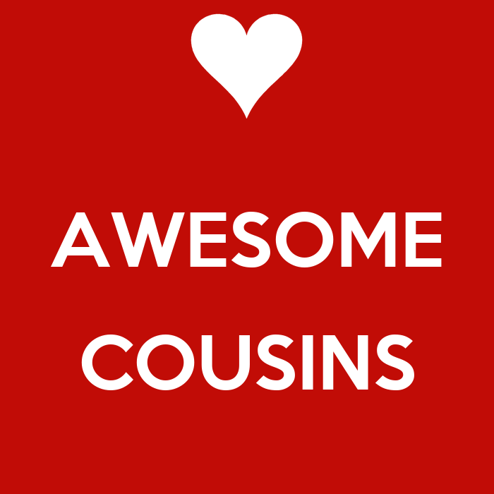 AWESOME COUSINS - KEEP CALM AND CARRY ON Image Generator