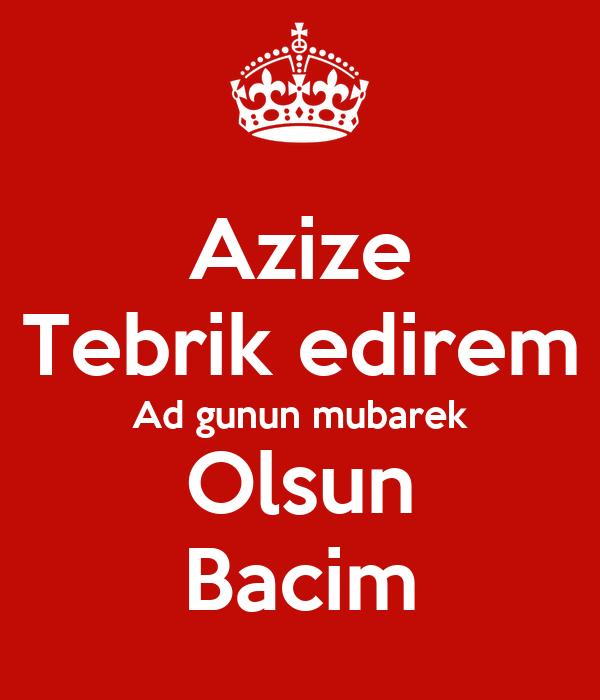 Ad Gunun Mubarek Bacim Tebrikler Images Səkillər