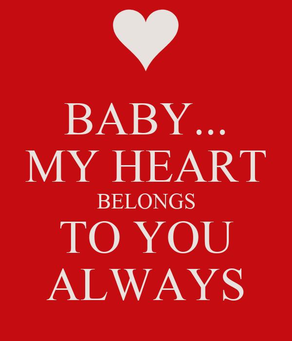 my Heart Belongs to You Always
