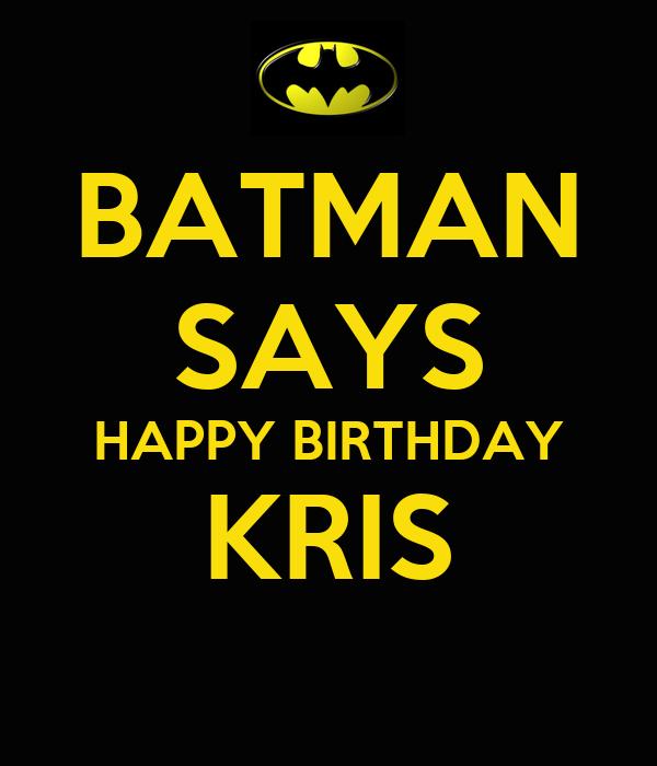 Kris happy birthday 3sum 10