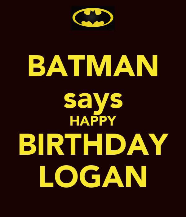 Happy Th Birthday Logan Cake