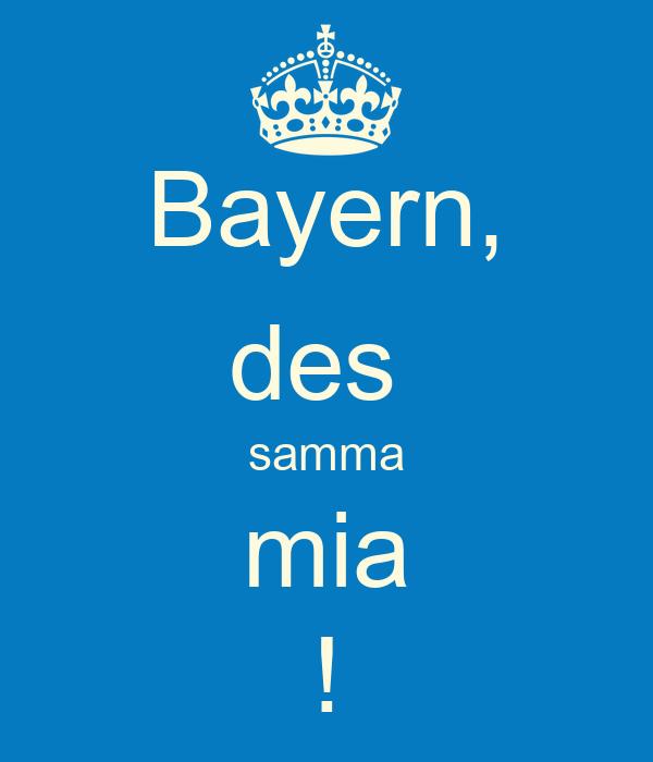 Bayern Des Samma Mia