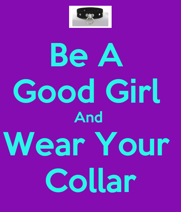 how to wear a collar