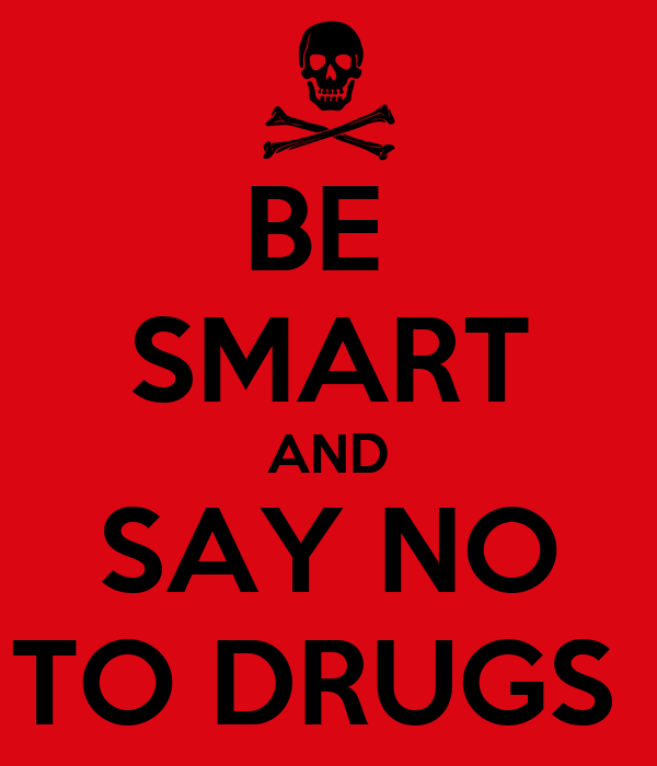 BE SMART AND SAY NO TO DRUGS Poster | rachel | Keep Calm-o