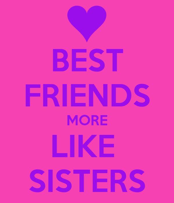 best friends sister