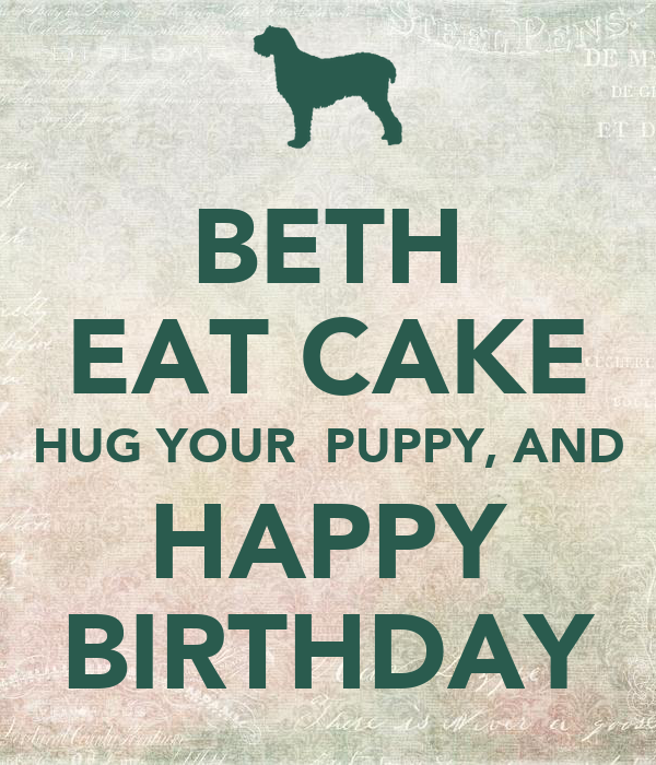 Happy Birthday Beth Cake Images