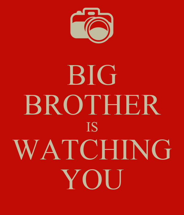 Big Brother is Watching You Wallpaper Big Brother is Watching You