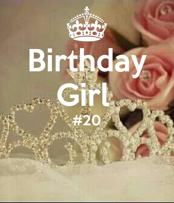 Birthday Girl #20 Poster