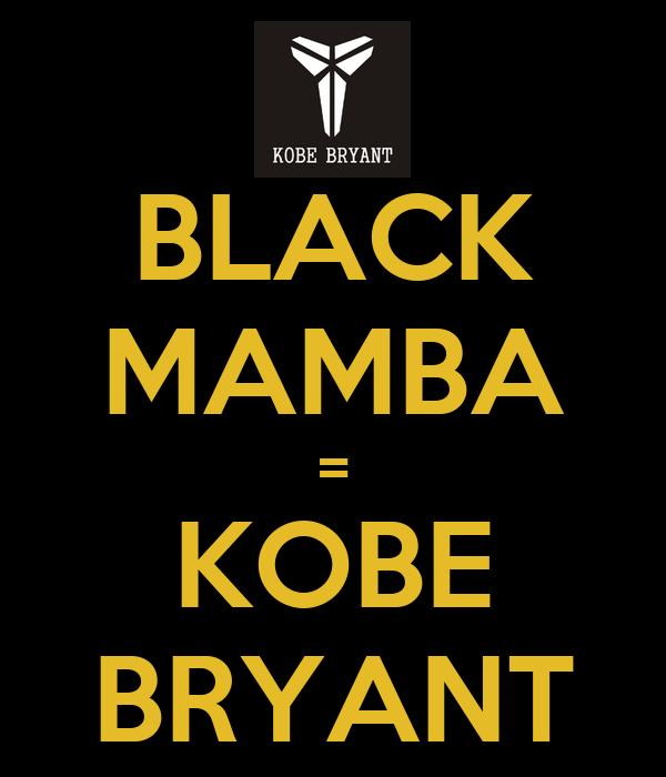BLACK MAMBA KOBE BRYANT Black Mamba Logo Wallpaper