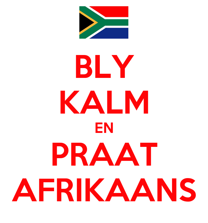 Afrikaans Is Fun On Friday on Body Part With This Activity Children