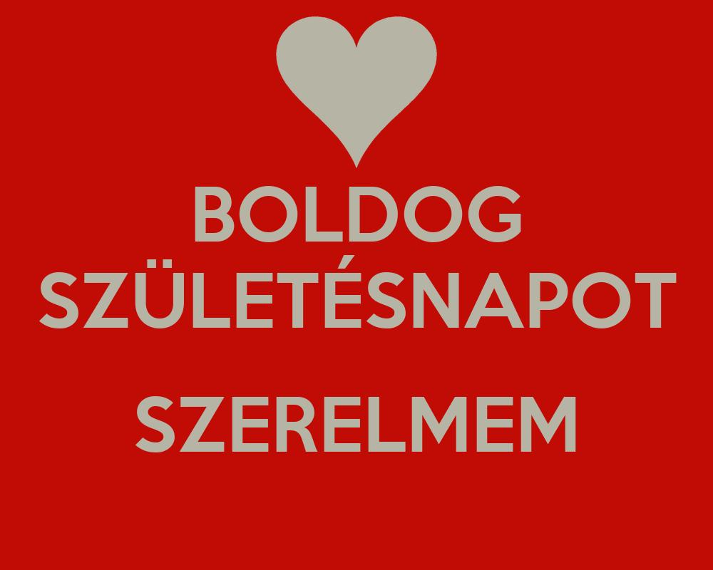boldog születésnapot szerelmem BOLDOG SZÜLETÉSNAPOT SZERELMEM Poster | Szabi | Keep Calm o Matic boldog születésnapot szerelmem