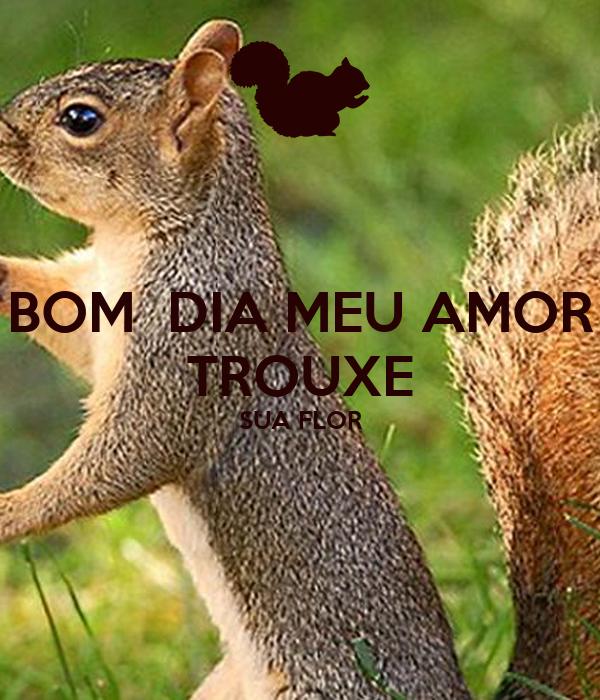 Bom Dia Meu Amor Trouxe Sua Flor Poster Alessandra Keep