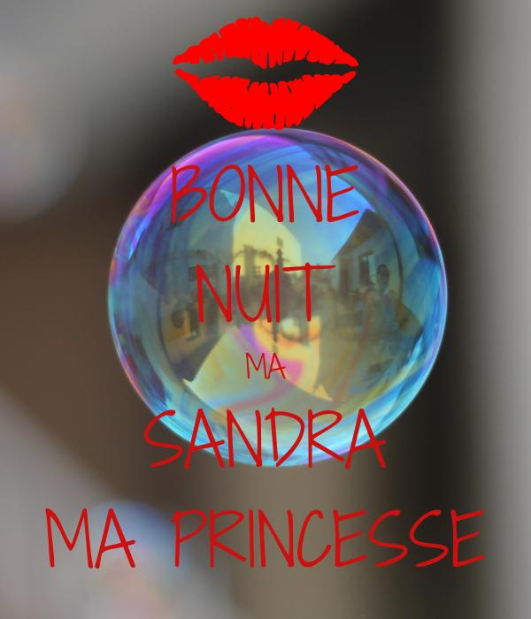 Bonne Nuit Ma Sandra Ma Princesse Poster Johnny Keep