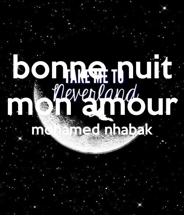 Bonne Nuit Mon Amour Mohamed Nhabak Poster Amal Keep